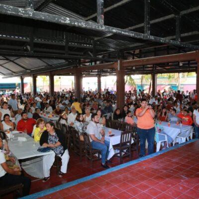 Exhortan Emiliano Ramos y Paola Moreno a ciudadanos a sumar esfuerzos para lograr un Cancún pacífico, próspero y seguro
