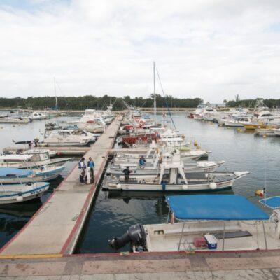 Aclara Alicia Ricalde que Apiqroo no ha descuidado la marina Cozumel, como señaló el delegado de Fonatur