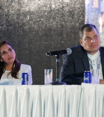 El reto de todo gobierno debe ser, superar la pobreza y el retraso en su desarrollo, afirma Rafael Correa