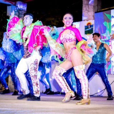 Gran asistencia al certamen de elección de los Reyes del Carnaval Tulum 2020