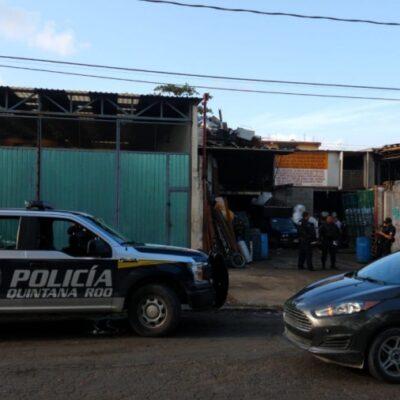 Disparan contra empleado de recicladora en Cancún