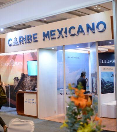 Asiste delegación del Caribe Mexicano a la ANATO para continuar con la promoción turística internacional, anuncia Darío Flota