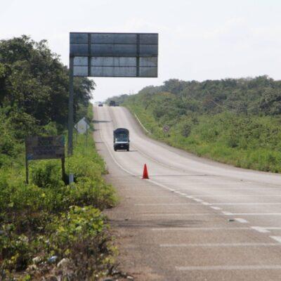 Piden instalación de filtro policíaco en ruta de comunidades productivas en José María Morelos