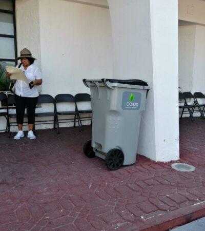 Van más de 300 amparos interpuestos contra ley que obliga a empresarios a rentar 'contenedores inteligentes' en Cancún