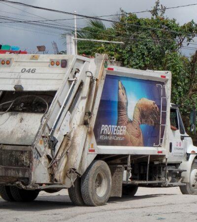 Empresarios continuarán interponiendo amparos contra contenedores de basura en Cancún
