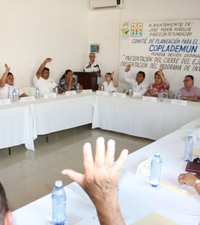 Aprueban inversión de 92 mdp para obra pública en la zona maya de José María Morelos