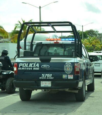 Detienen a siete personas armadas y con drogas en Cancún