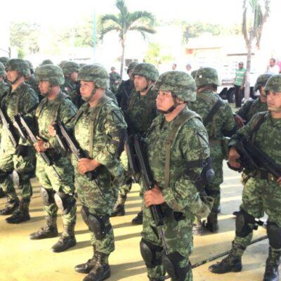 Guardia Nacional realizará recorridos en primarias y secundarias de Chetumal