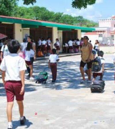 Presentará SEQ el nuevo protocolo de seguridad que se aplicará en escuelas de QR