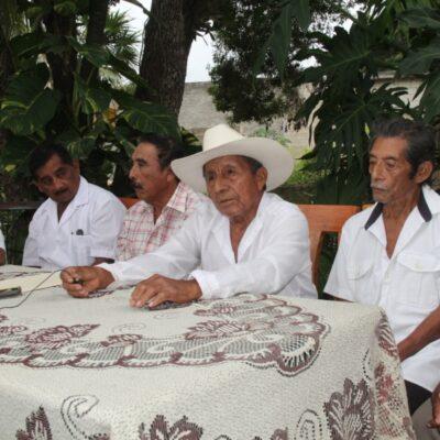 Exigen dignatarios cuentas claras al Inmaya y la desaparición del Gran Consejo Maya