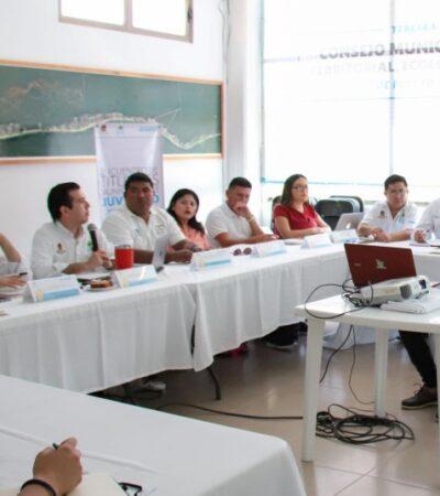 Reiteran autoridades compromiso de seguir generando políticas públicas para atender necesidades de los jóvenes en Puerto Morelos