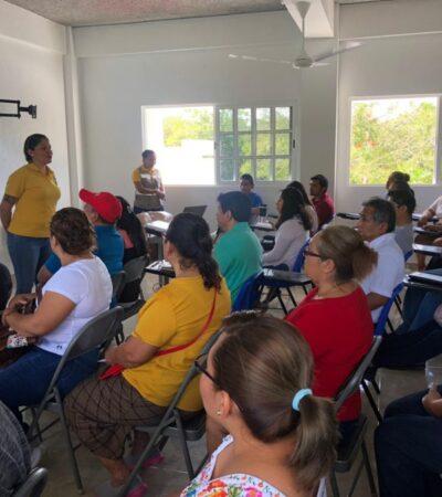 Imparte Protección Civil curso de primeros auxilios a 45 comerciantes de Leona Vicario