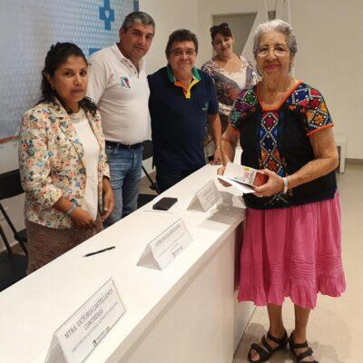 Brindan curso sobre diabetes a personas de la tercera edad en Puerto Morelos