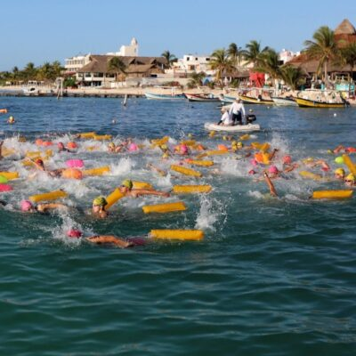 """Puerto Morelos refrenda su importancia como destino de eventos de calidad con el V Festival del Ceviche y el XV Maratón Internacional de Aguas Abiertas """"Ruta del Arrecife"""""""
