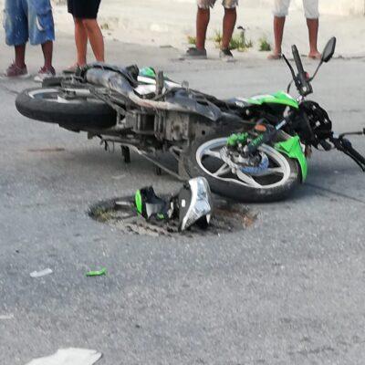 Fallece motociclista atropellado el martes en Playa del Carmen