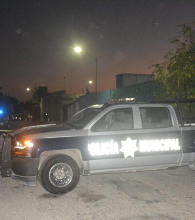 Emboscan a hombre pero sobrevive al ataque en el fraccionamiento Misión del Carmen de Playa del Carmen