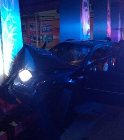 TRÁGICO FIN DE UNA NOCHE DE FIESTA EN PLAYA: Muere una joven en accidente al chocar auto contra base del puente; aparentemente había alcohol de por medio