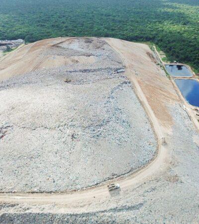 Necesaria construcción de cuarta celda del relleno sanitario de Cancún e Isla Mujeres, urge alcalde