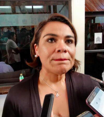 QUE NO LE MUEVEN EL TAPETE: Reyna Durán se dice firme al frente de la Jugocopo, pero reconoce que si los integrantes de su bancada eligen a un nuevo coordinador, será respetuosa