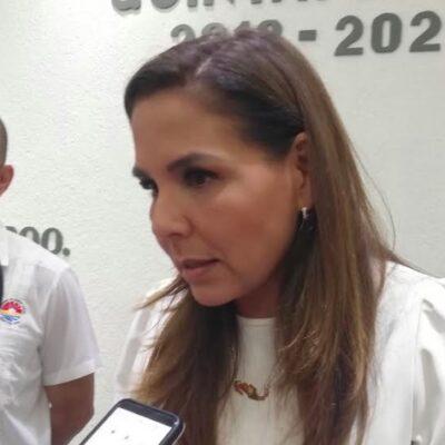 """""""ESO TE LO TENDRÍA QUE RESPONDER LA DIRECCIÓN DE SERVICIOS PÚBLICOS"""": Niega Mara Lezama retraso en programa de bacheo en Cancún"""