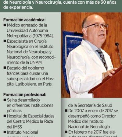 Así fue el cese del titular de Instituto Nacional de Neurología