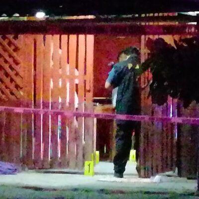 EJECUCIÓN EN EL SUR DE QR: A balazos, matan  encapuchados a un ganadero en una taquería del poblado de Limones