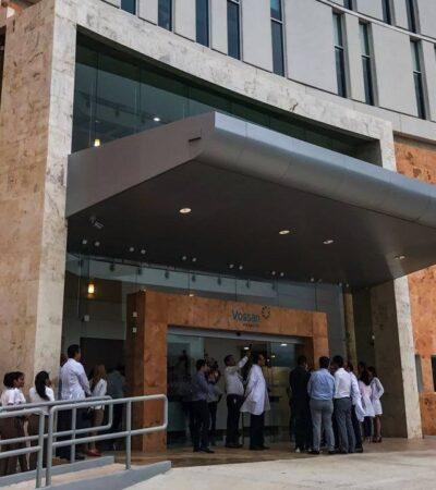 Atracan hospital privado de la familia de Juan Camilo Mouriño en Campeche
