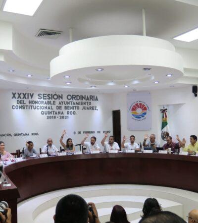 REBELIÓN EN LA GRANJA MARISTA: Basura divide opiniones entre regidores de Cancún; llenan recinto con servidores públicos para evitar presencia de empresarios, acusan