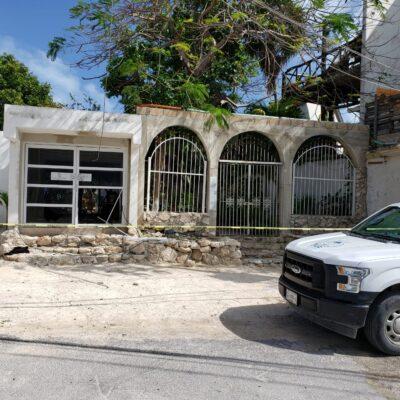 SEGUIMIENTO   Colocan sellos de aseguramiento en hotel Casa Caribela, tras ataque a balazos y surge como principal línea de investigación disputa por la posesión del inmueble