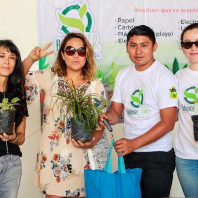 Llevan a cabo el programa de reciclaje 'Adopta Vida' en Tulum