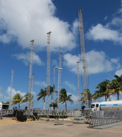 CAMBIAN SEDE DEL CARNAVAL A MALECÓN TAJAMAR: Confirma Alcaldesa que actividades previstas para playa Langosta serán en el emblemático espacio en Cancún