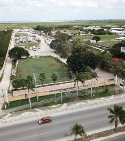 GALERÍA | ESTE ES EL TERRENO QUE BORGE LES 'REGALÓ' A LOS MILLAR: Vistas desde un dron del predio asegurado este sábado a Alberto Millar sobre el bulervar Colosio de Cancún