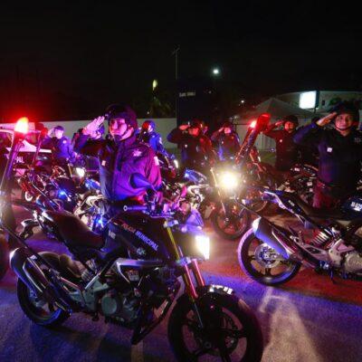Desembolsó Ayuntamiento de BJ más de 5 mdp del Fortaseg en la compra de 28 motocicletas y una camioneta para la Policía Preventiva