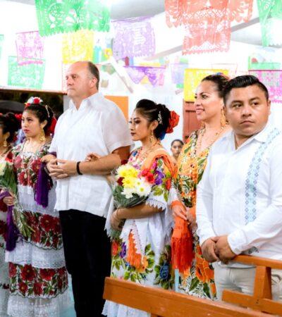 INAUGURAN FIESTAS TRADICIONALES DE CHANCHÉN I: La Cultura Maya ante los ojos del mundo, destaca Edgardo Díaz Aguilar