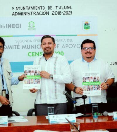 Garantizado el levantamiento del Censo de Población y Vivienda 2020 en Tulum