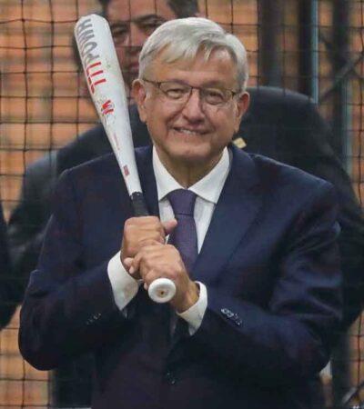MÁS BATS, MENOS PUPITRES: Destina AMLO más de 400 millones de pesos a promoción del beisbol