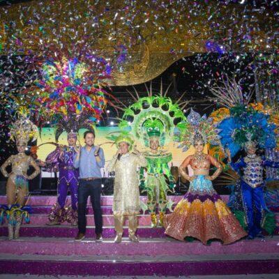 Presenta gobierno de Pedro Joaquín a candidatos a reyes del Carnaval 2020 en disfraz individual