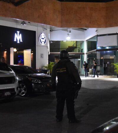 CATEAN ANTRO EN CANCÚN: Investigan policías ministeriales denuncias sobre desaparición o maltrato a clientes en centro nocturno 'Imperio'