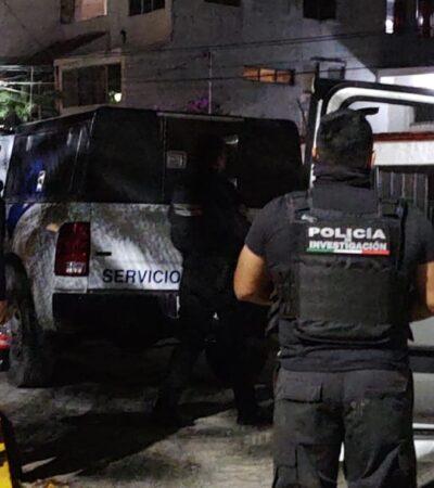 Catean casa en Cancún donde se presume asesinaron a policía de Quintana Roo