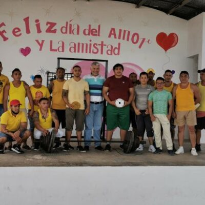 Implementan programa de convivencia con actividades deportivas en el Cereso de Chetumal