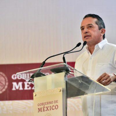 """""""HAY QUE DAR UN GRAN SALTO DE CIVILIDAD POLÍTICA"""": Reconoce el gobernador Carlos Joaquín que se dejó de trabajar en equipo en Solidaridad"""