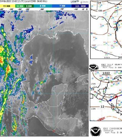 PRONÓSTICO DEL CLIMA: Inicia la semana con tiempo seco y estable para Quintana Roo