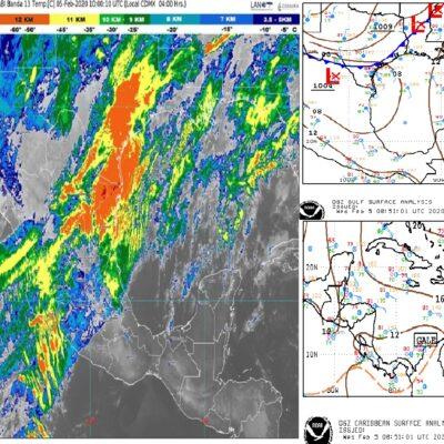 PRONÓSTICO DEL CLIMA: Llegará Quintana Roo a los 35 grados Centígrados