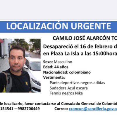 Reportan desaparición de colombiano en la Zona Hotelera de Cancún