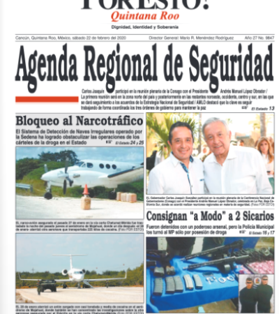 Rompeolas Extra | Cambia directorio del Por Esto! de Quintana Roo; renuncia Renán Castro
