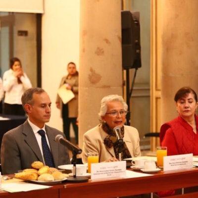 Buscan farmacéuticas y gobierno de México garantizar suministro de medicamentos