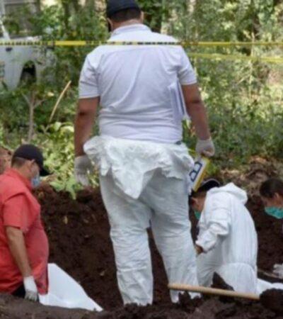 Encuentran en Uruapan fosa clandestina con restos de al menos 11 cadáveres