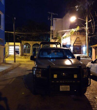 Atacan a balazos negocio en Puerto Juárez, queman auto y una palapa; detienen a dos presuntos responsables