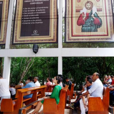 Llama iglesia católica a feligreses a que apliquen medidas sanitarias recomendadas para prevenir el Coronavirus