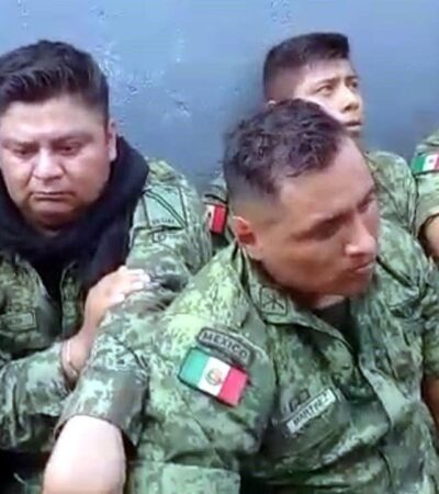 """LOS MOTIVOS DEL SOLDADO   RELATAN MILITARES AGRESIONES: """"Se siente como frustrante, que no puedas hacer nada, no responder a la agresión"""""""